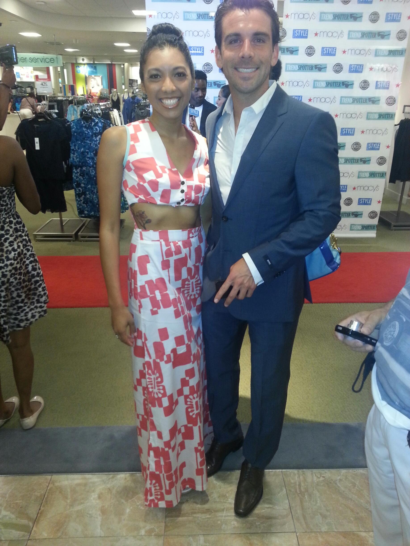 A Fashion Fiend and Houston Dynamo player, Mike Chabala