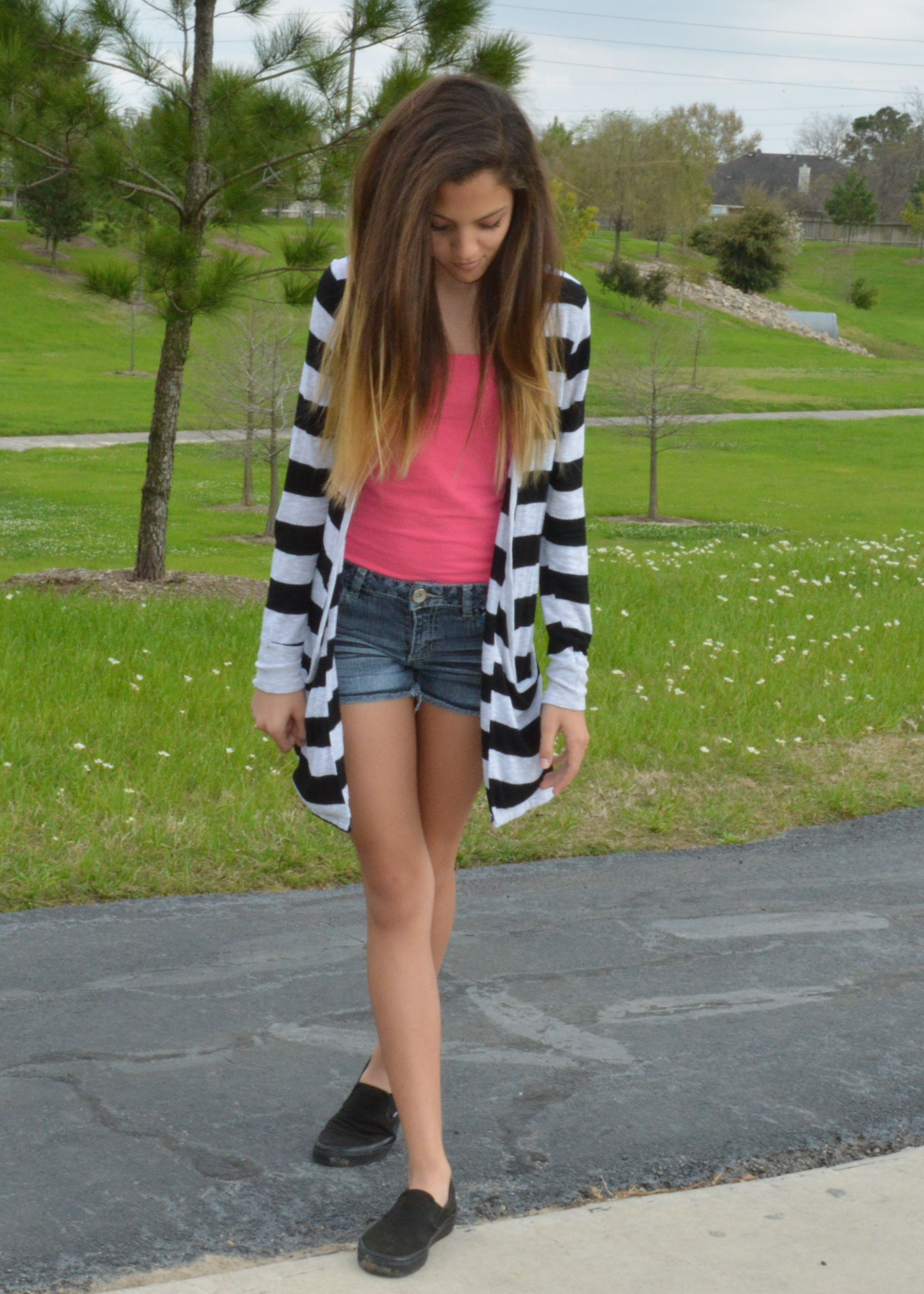 Teen style tuesday horizontal stripes a fashion fiend - Teenager style ...