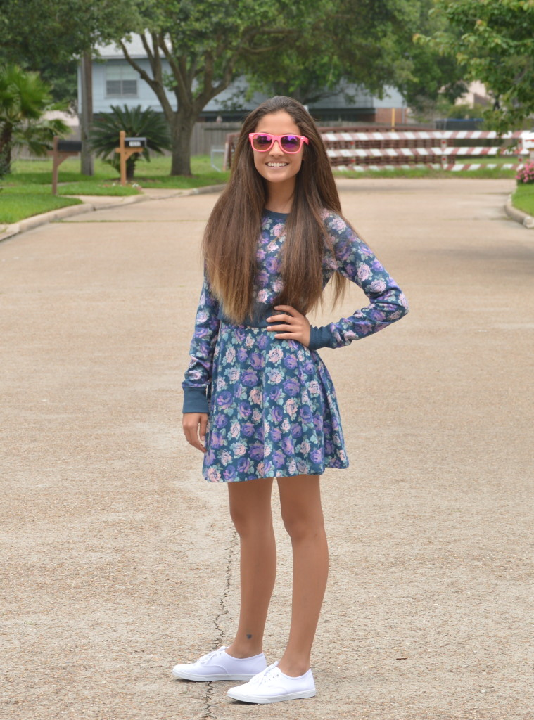 Teen Style Tuesday- Floral Denim - a fashion fiend